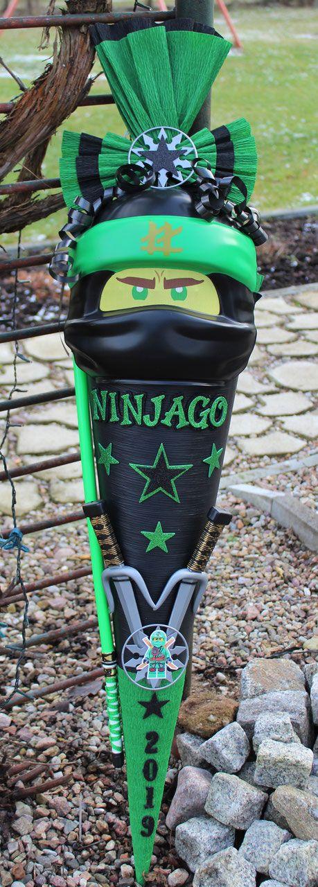 "schultütezuckertüte mit ninjago maske ""lloyd""  ninjago"