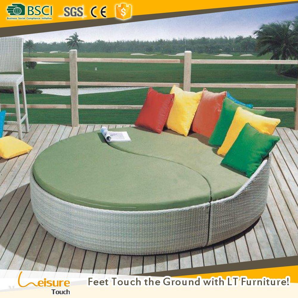 Precio más barato jardín diván ronda utilizado muebles de exterior ...