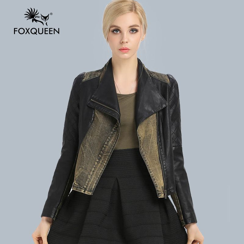 Fur Story 14131A 2016 new Genuine leather coat jacket real