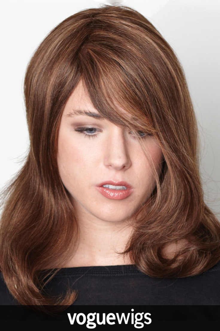 Beautiful and natural remy wig by aspen give your style a bang