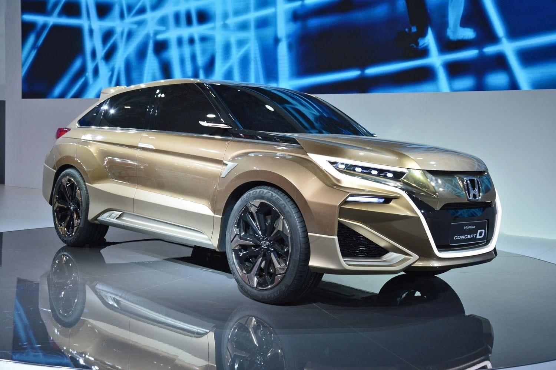 2015 Honda Concept D Honda Honda Crv Honda Crv 2017
