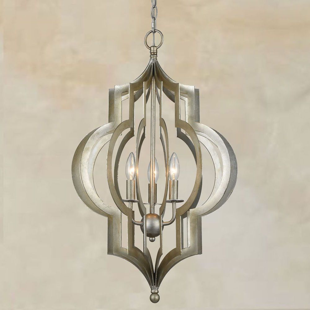 horchow lighting chandeliers. New Horchow Neiman Marcus Silver Pendant Regina Andrew Style Chandelier Light - Traditional Home, Italian Lighting Chandeliers O