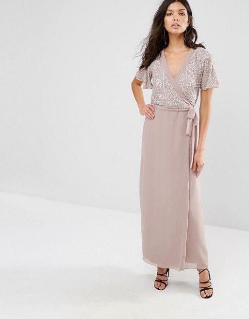 River island geo print maxi dress