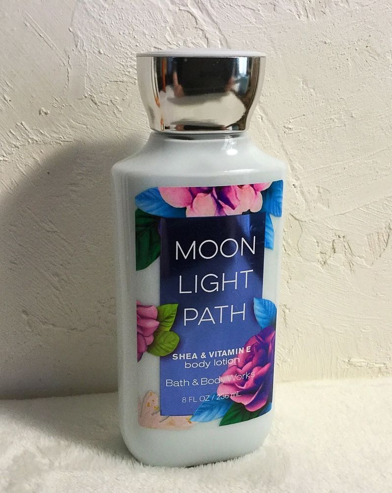New Bath Body Works Moon Light Path Shea Vitamin E Body