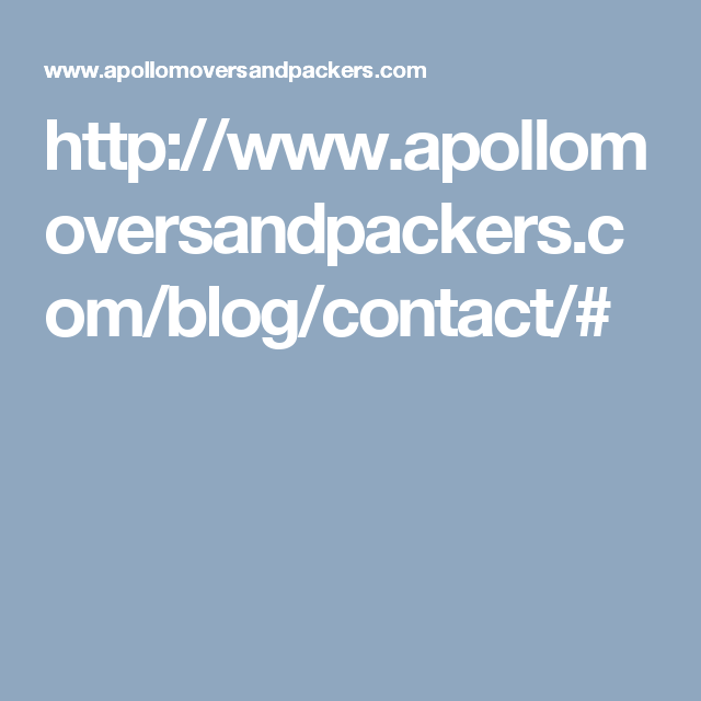http://www.apollomoversandpackers.com/blog/contact/#