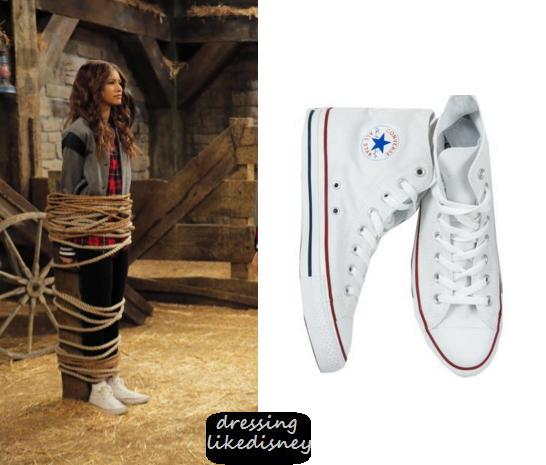 d6ec78646761 K.C. Cooper (Zendaya Coleman) wears these lace up high stop sneakers in  this episode of K.C. Undercover