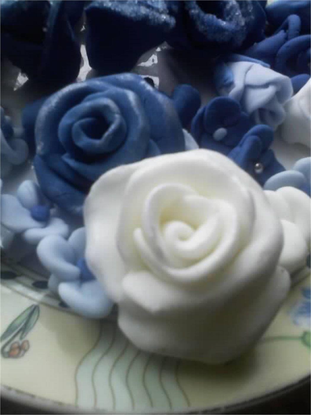 Tort Dzbanek Z Kwiatami Glassware Mugs Tableware