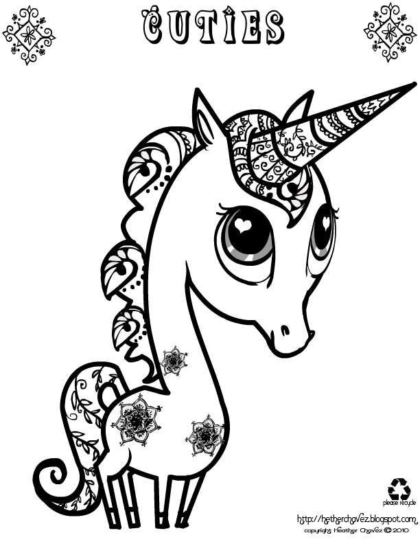 Unicorn Unicorn Coloring Pages Animal Coloring Pages Cute Coloring Pages