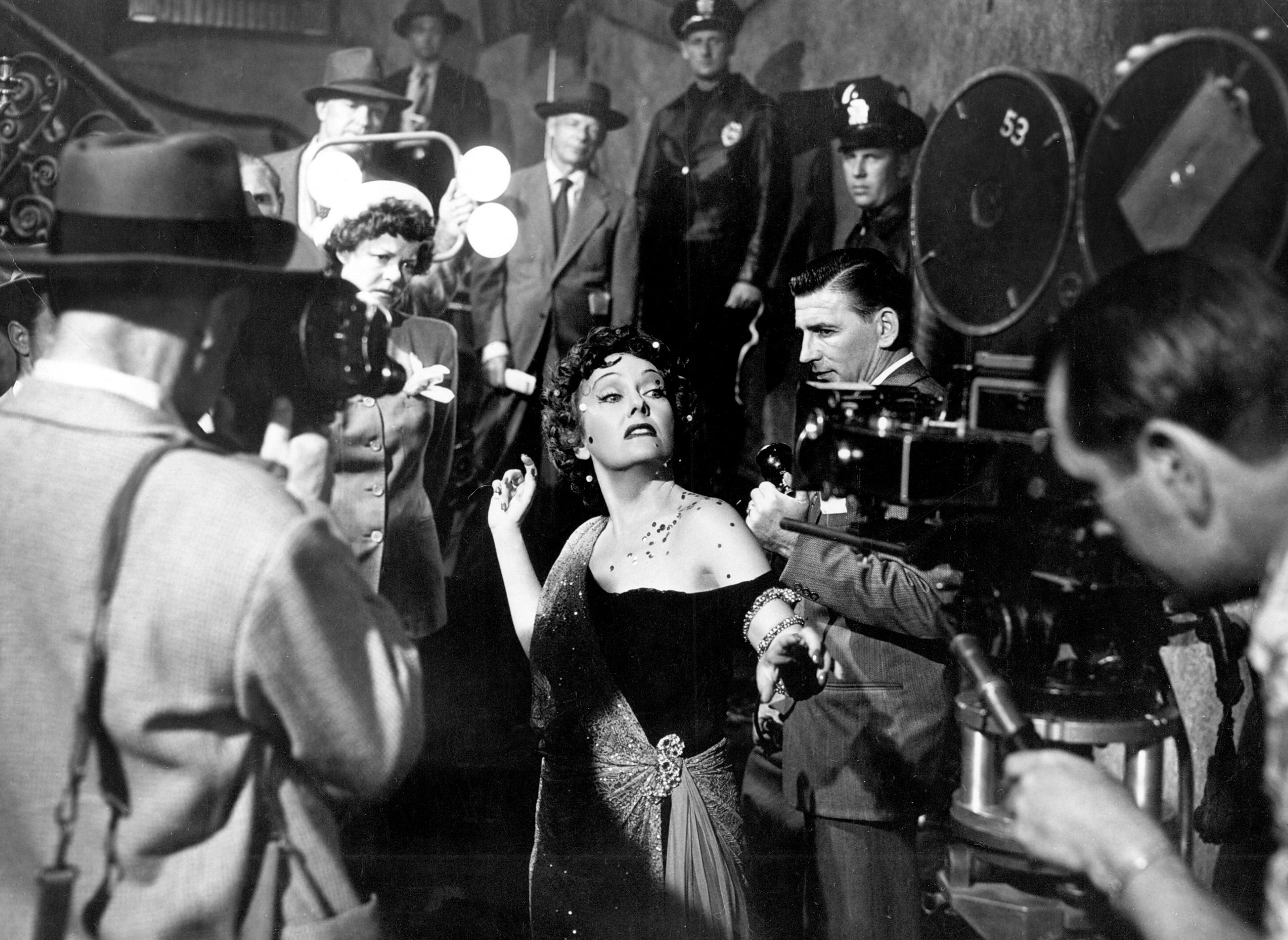 """Sunset Boulevard"" movie still, 1950. Gloria Swanson as"