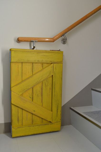 Diy Baby Gate For The Bottom Of The Stairs Could Use A