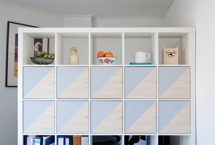 Ikea Kallax Kast : Diy ikea kallax hack wohnideen