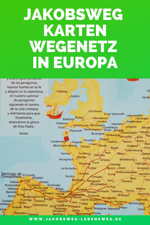 Jakobsweg Frankreich Spanien Karte.Zur Historie Des Jakobsweges Die Wichtigsten Jakobswege In