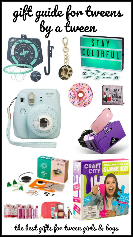 Gift guide for tweens by a tween tween gifts tween girl
