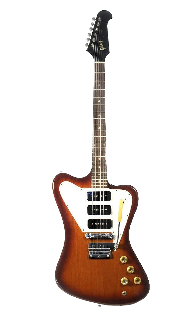 Gibson Firebird Guitar Transparent Png Image The Line Went On Sale In Mid