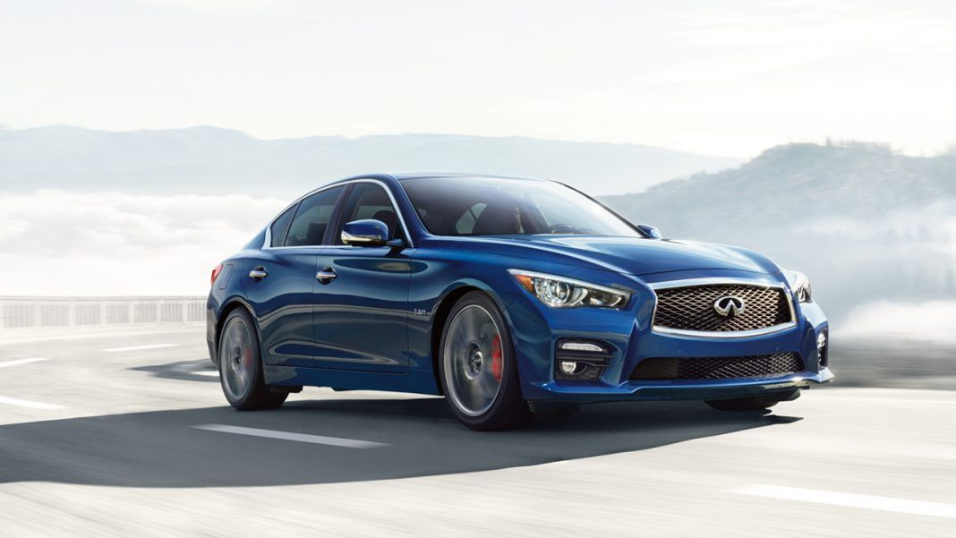 Y K Almoayyed Sons The Exclusive Distributor Of Infiniti In The Kingdom Of Bahrain Held An Exclusive Infiniti Q50 Sport Infiniti Q50 Infiniti Q50 Red Sport