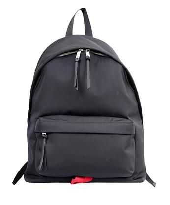 eceadc3ffbb GIVENCHY Black Nylon Tapered Backpack. #givenchy #bags #leather #nylon  #backpacks #cotton #