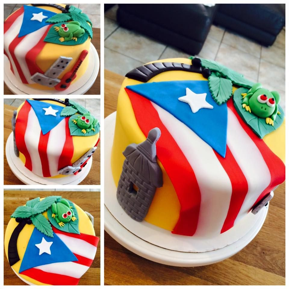 Tremendous Puerto Rico Cake With Images Birthday Beer Cake Cake For Funny Birthday Cards Online Inifodamsfinfo