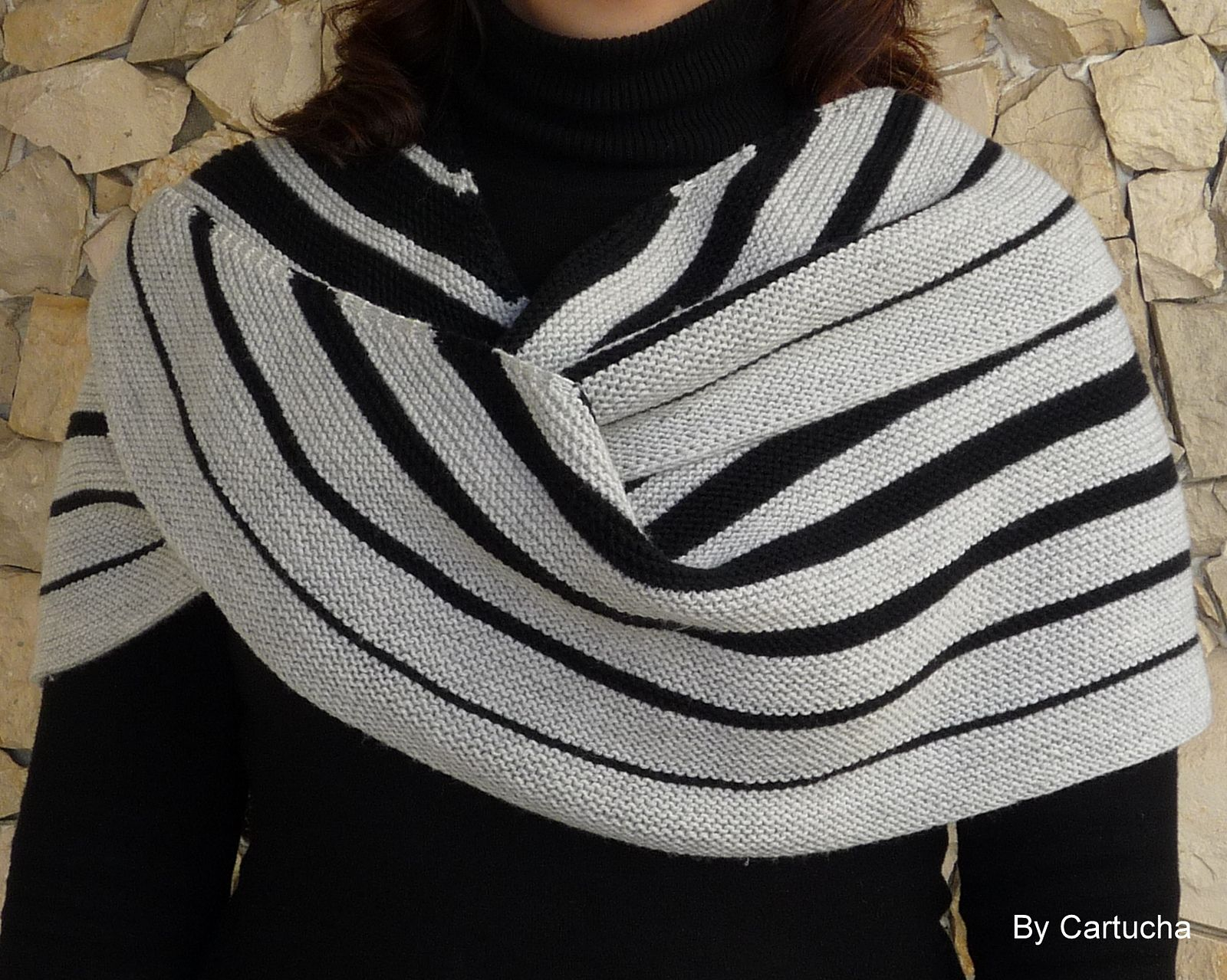 Ravelry: Cartucha's Miara shawl - test knit