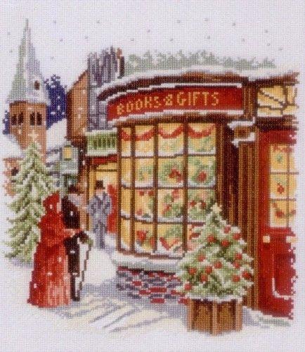 Вышивка Christmas Shop (Vervaco)