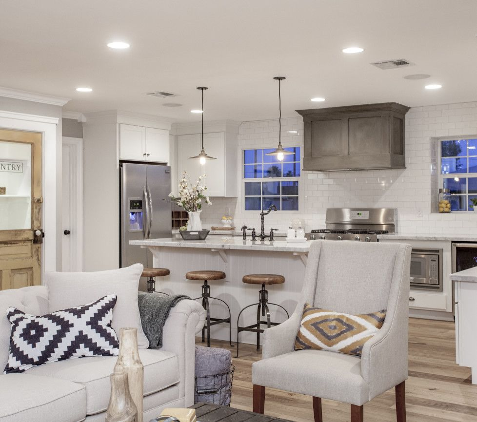 Loving This Open Concept By Tollbrothers: Mulberry. Kitchen Subway Tile, Range Hood And