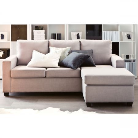Pleasant Newport 3 Seater Sofa Bed With Chaise Domayne Online Store Pabps2019 Chair Design Images Pabps2019Com