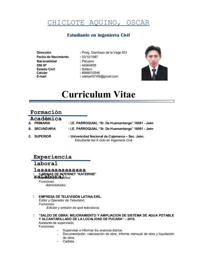 Curriculum Vitae Estudiante Modelo De Curriculum Vitae Words Word Search Puzzle