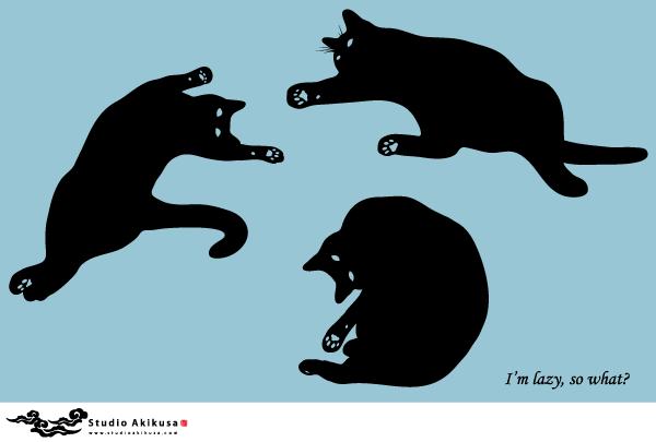Siluetas De Gato Negro Gratis, Free Vector