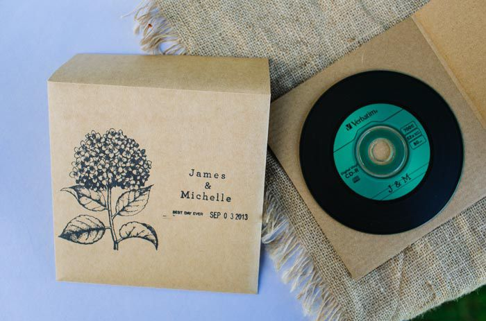 inexpensive wedding favor! this could be the soundtrack to their ...