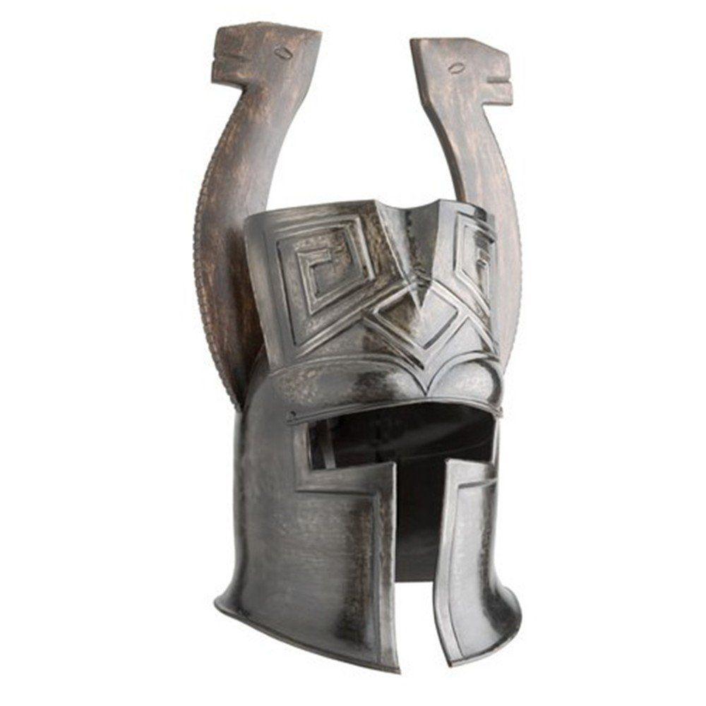 Conan Helmet With Wooden Horn