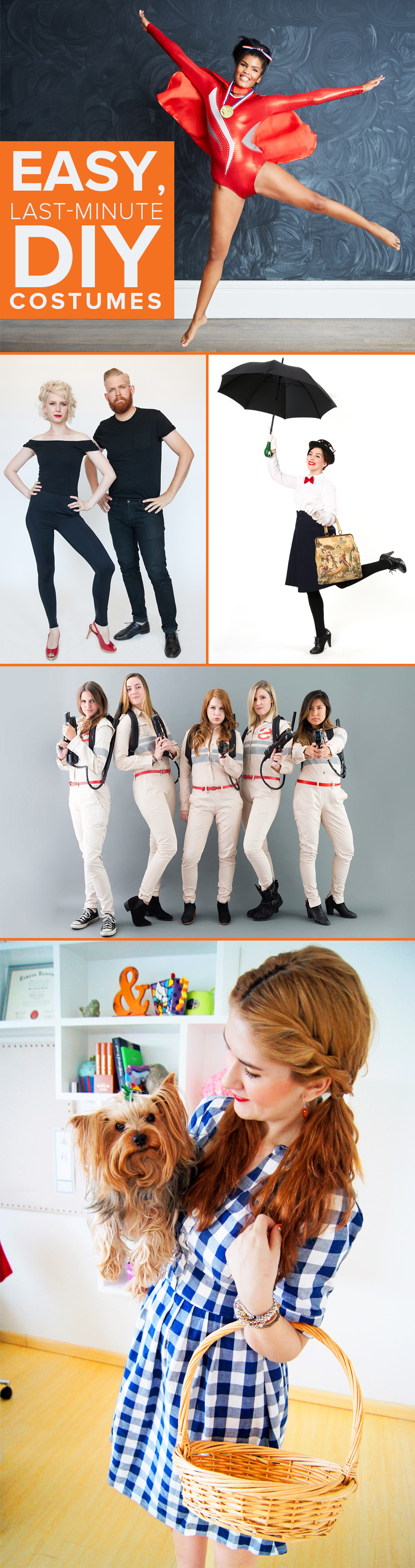 5 Halloween Costumes You Can Make At Home In Just 3 Steps