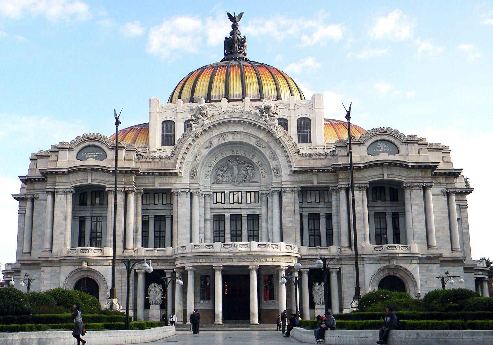 Central de arquitectura a mexico city based design studio has - Palacio De Bellas Artes Cultura Mexicana Mexico Citymexico