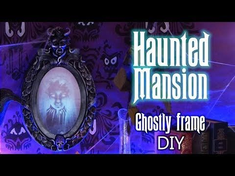 Disney DIY - HAUNTED MANSION / PHANTOM MANOR , ghostly frame