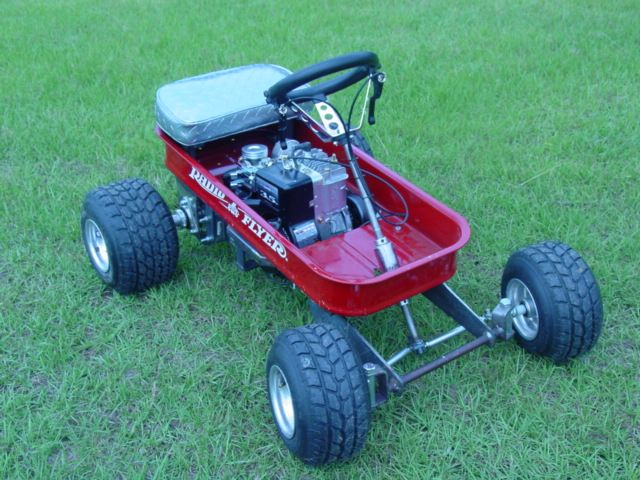 Radio Flyer Go Cart Modified 3 5 Hp Briggs And Stratton
