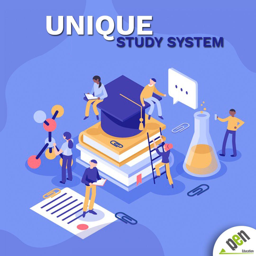 Our Unique Study System That Differentiates Pen Education