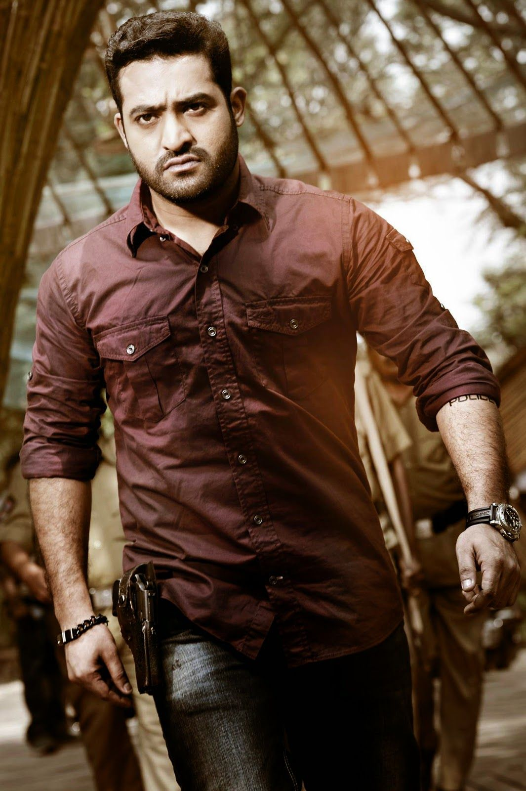 jr ntr in temper latest first look photos, ntr in temper movie
