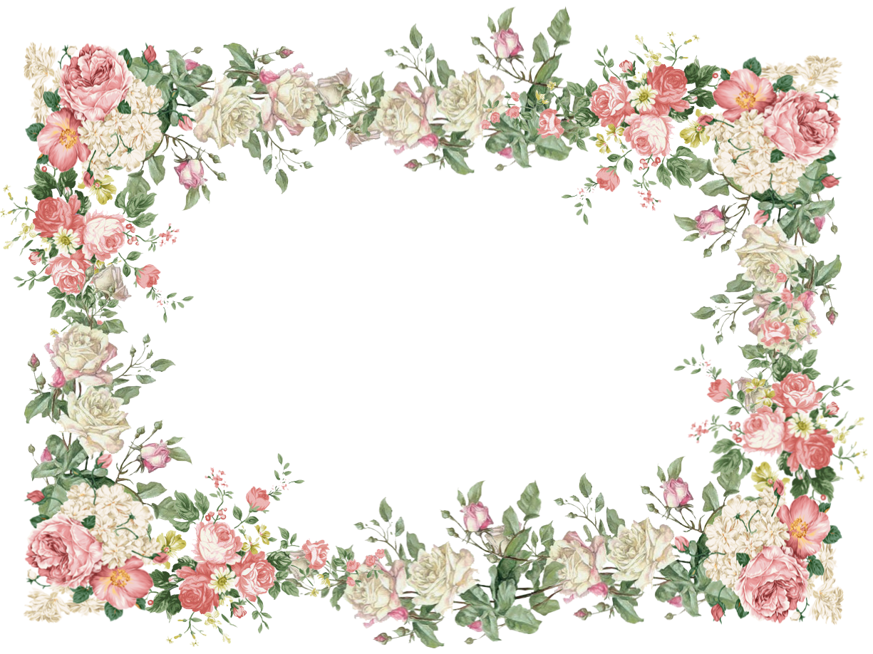 Free Vintage Flower Frame Png White And Pink Roses And Vintage Rose Tags Vintage Rosenrahmen Freebies Meinli Flower Frame Png Flower Frame Vintage Roses
