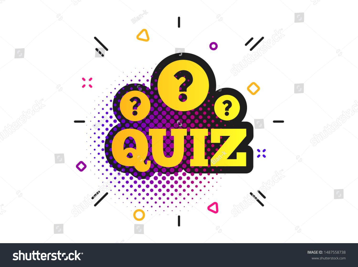 Quiz With Question Marks Sign Icon Halftone Dots Pattern Questions And Answers Game Symbol Cl Halftone Dots This Or That Questions Question And Answer Games