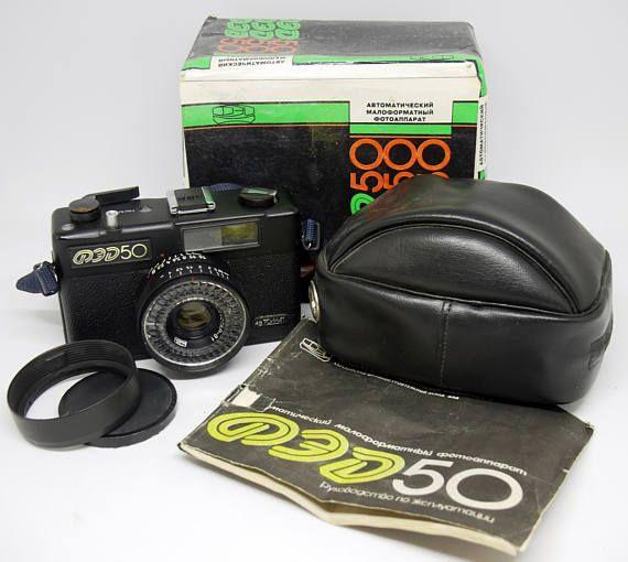 fed 50 35mm film compact camera collector s camera retro camera rh pinterest com Canon 35Mm Film Camera 35Mm Film Camera Manual