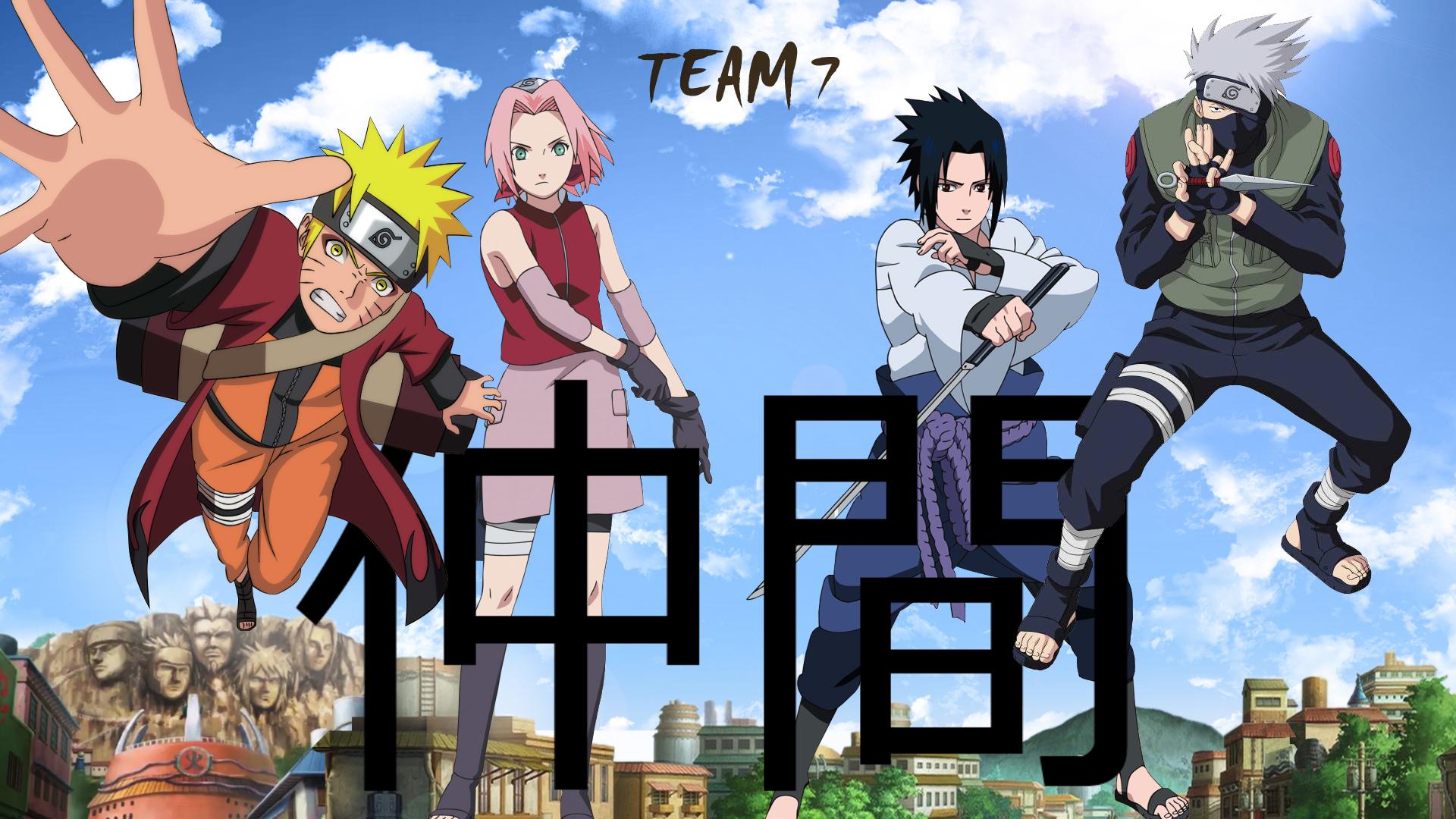 Naruto Team 7 Wallpaper Hd Di 2020