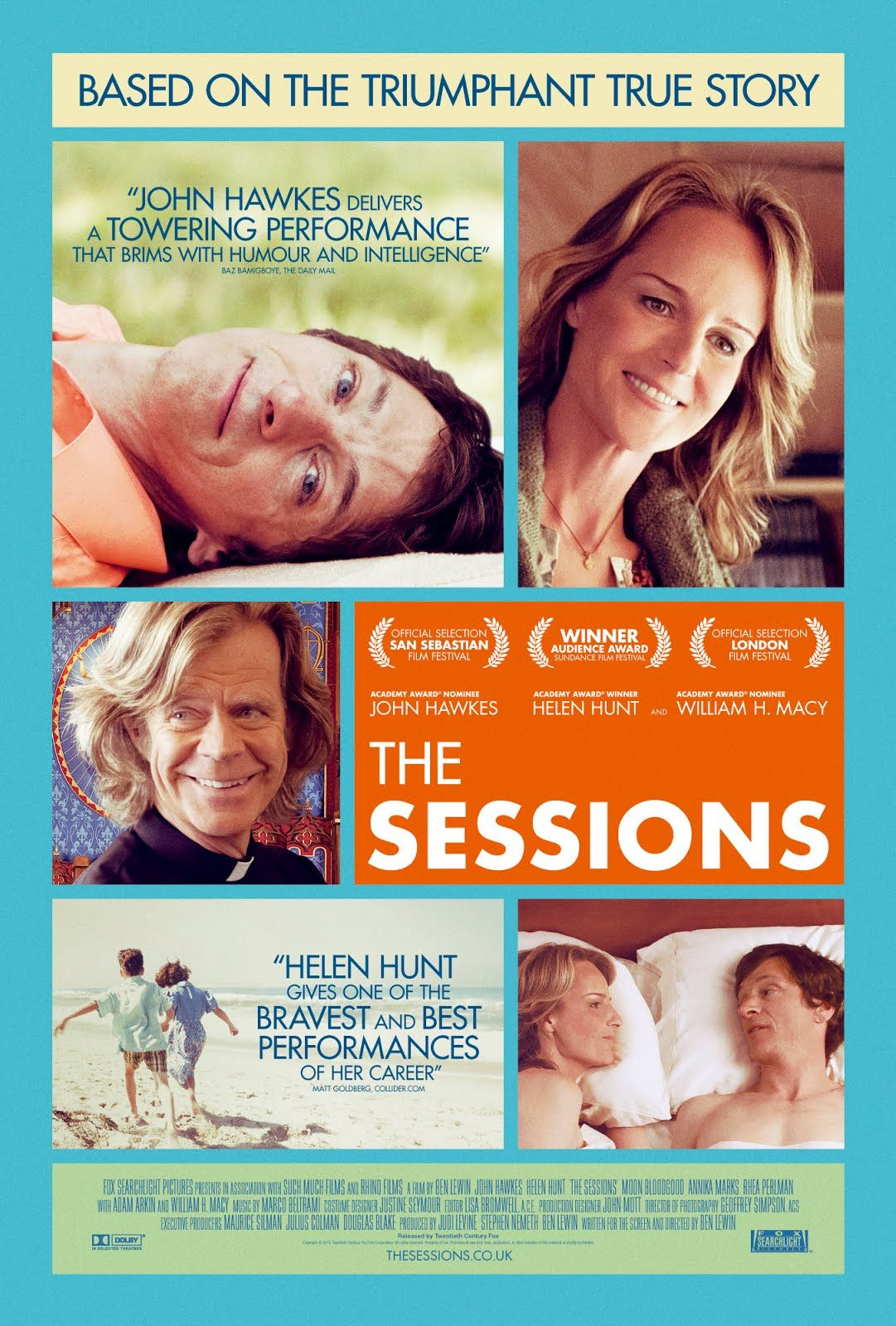 The sessions by Ben Lewin, 2012 (R) The sessions movie