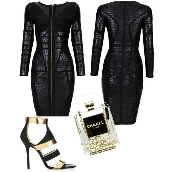 Jimmy & Chanel Love Affair !!!!! by chan-p on Polyvore featuring moda, Jimmy Choo and Chanel