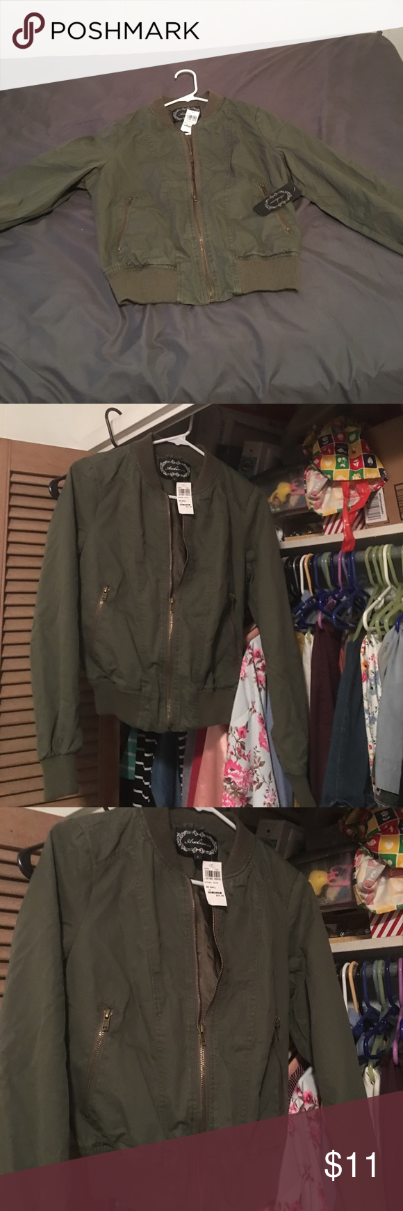 Women S Junior S Size Small Jacket Army Green Women S Junior S Small Jacket Ambiance Jackets Coats Utility Jackets Jackets Women Utility Jacket [ 1740 x 580 Pixel ]