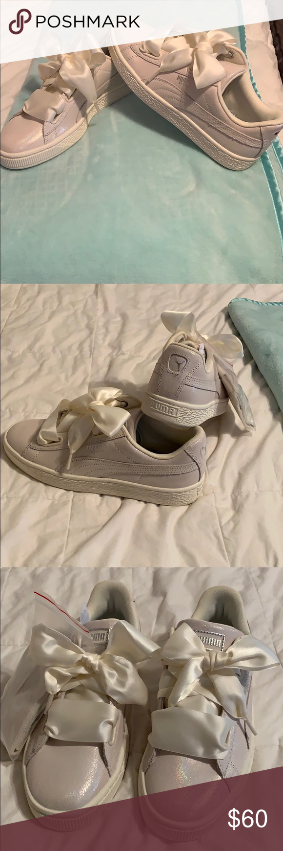 info for 4e09d 7c584 Puma Basket Hearts Sneakers Rihanna Brand New, out of box ...