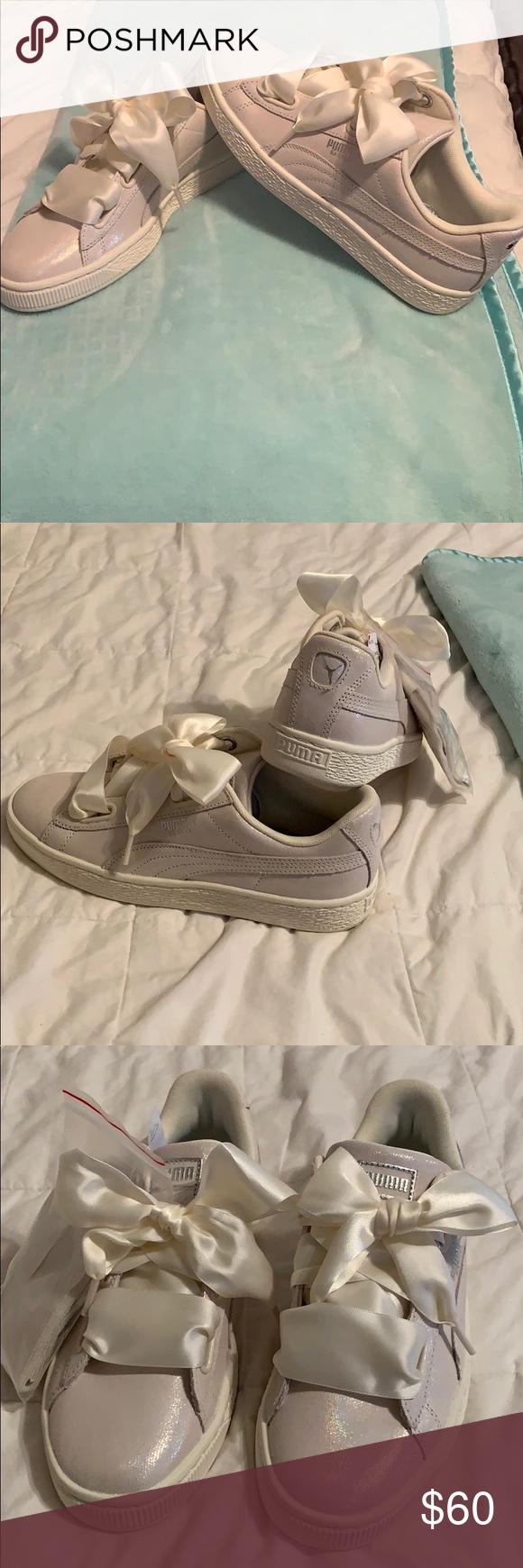 info for 77e99 f5e89 Puma Basket Hearts Sneakers Rihanna Brand New, out of box ...