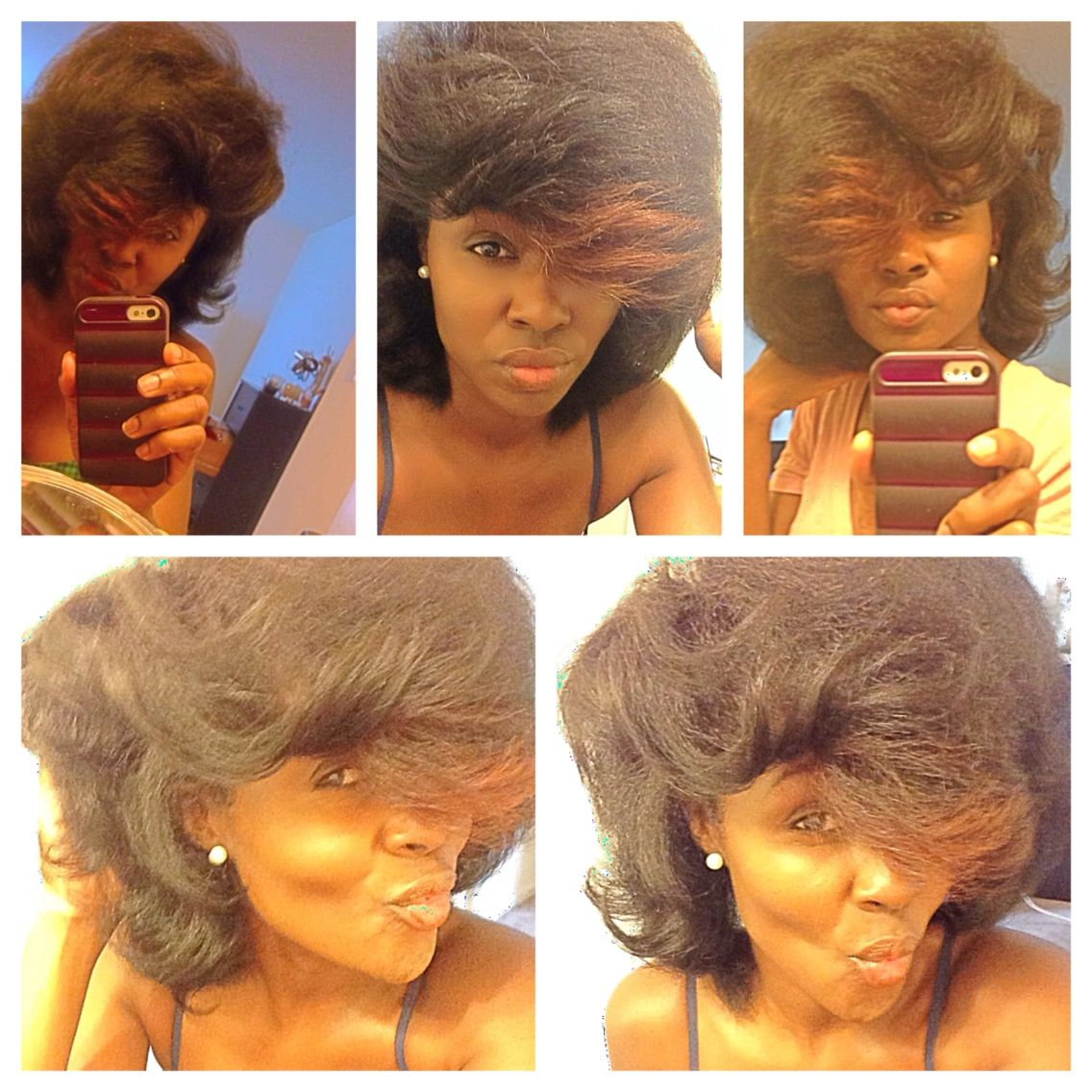 Perm for very short hair this epic perm really speaks for itself - Large Perm Rod Set With Green Rods Natural Hair