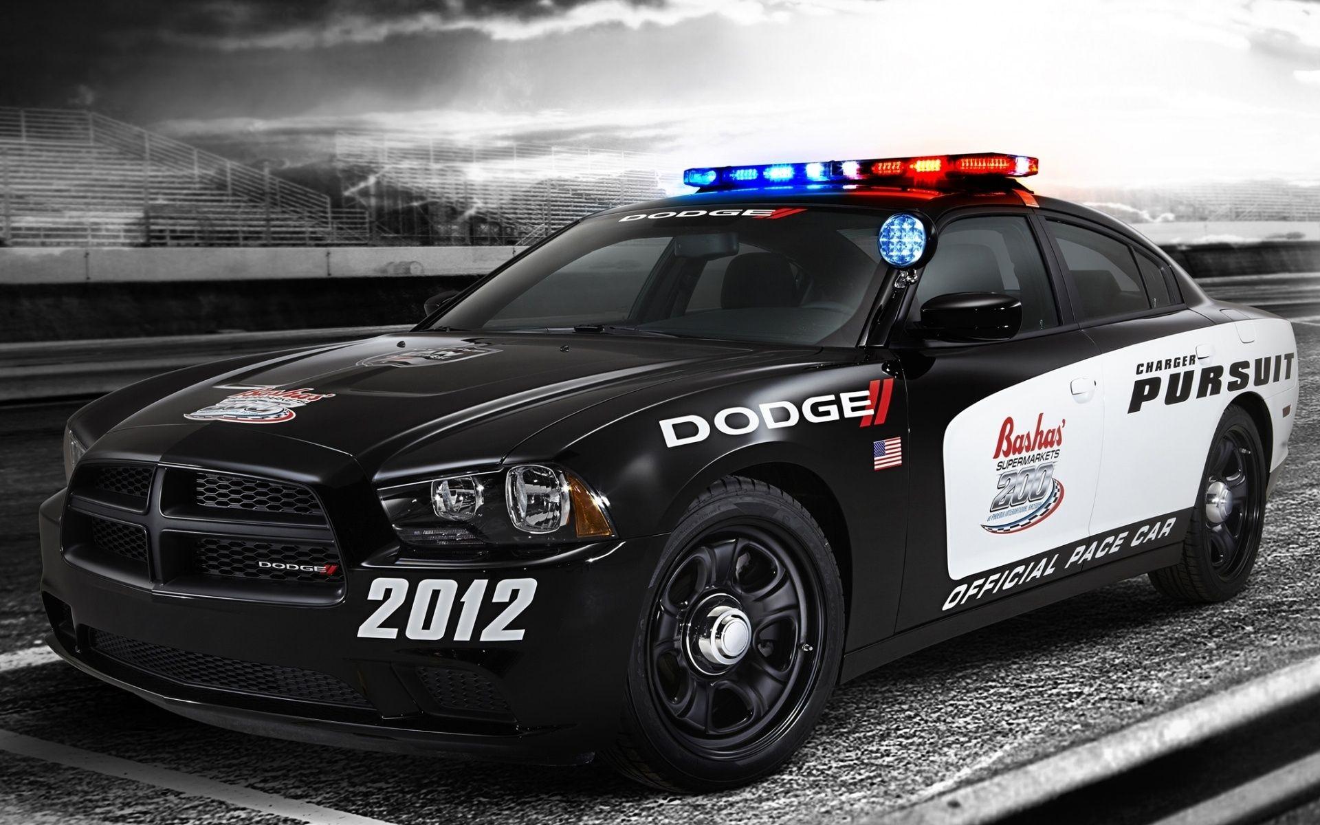 Usa dodge charger police car
