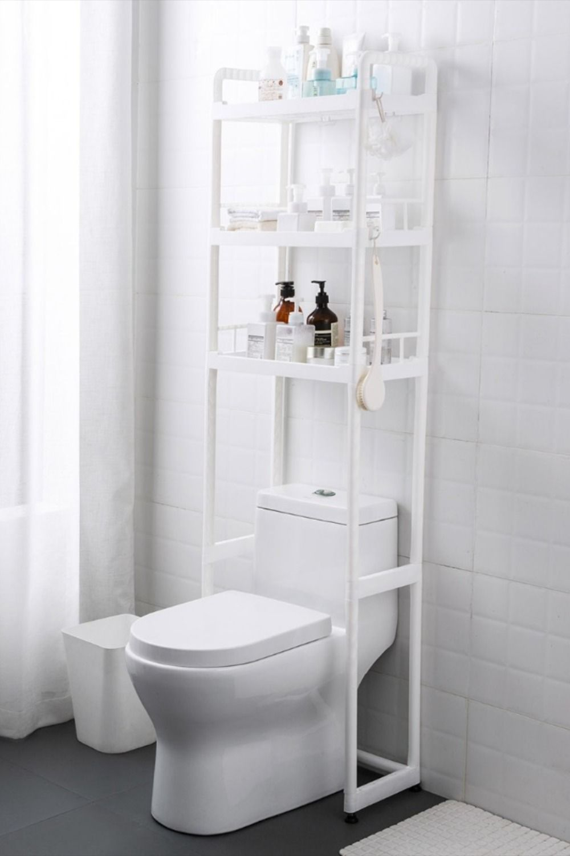 Layers Plastic Bathroom Storage Shelf Toilet Rack Bathroom Storage Storage Shelves Bathroom Storage Shelves [ jpg ]