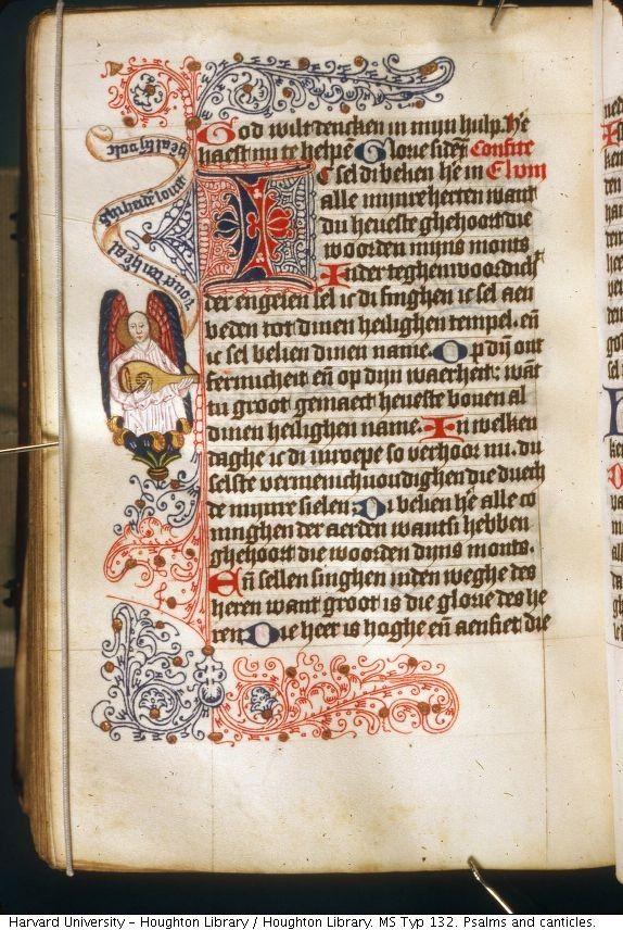 Rubricated border - Dutch 1420