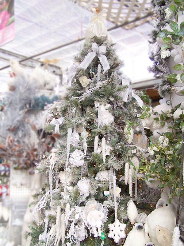Top White Christmas Decorations Ideas White christmas tree - white christmas tree decorations