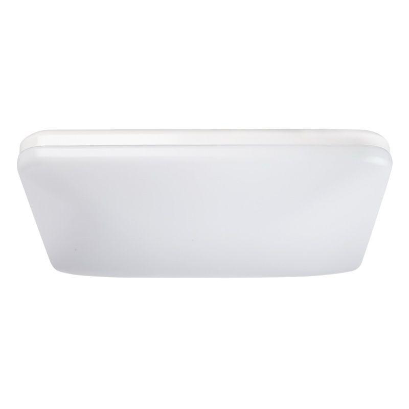 Moderne kompakte LED Deckenlampe in Weiß RegenBogen 660010601 - badezimmer deckenlampen led